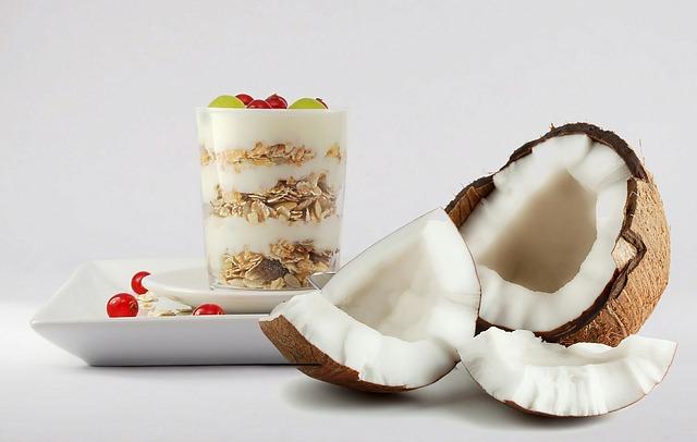 Kokos s jogurtem