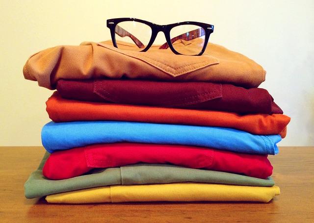 barevné kalhoty