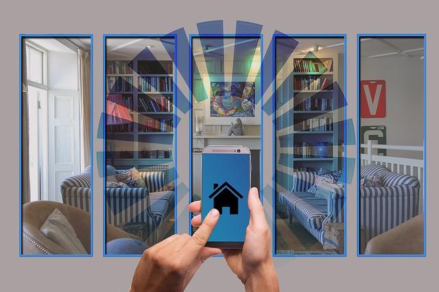 mobil ovládání dům