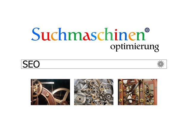 vyhledávače německy