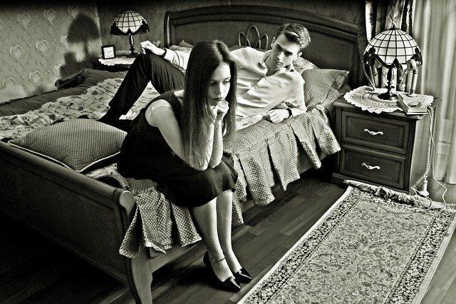 hádka partnerů