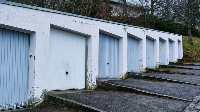 řadové garáže