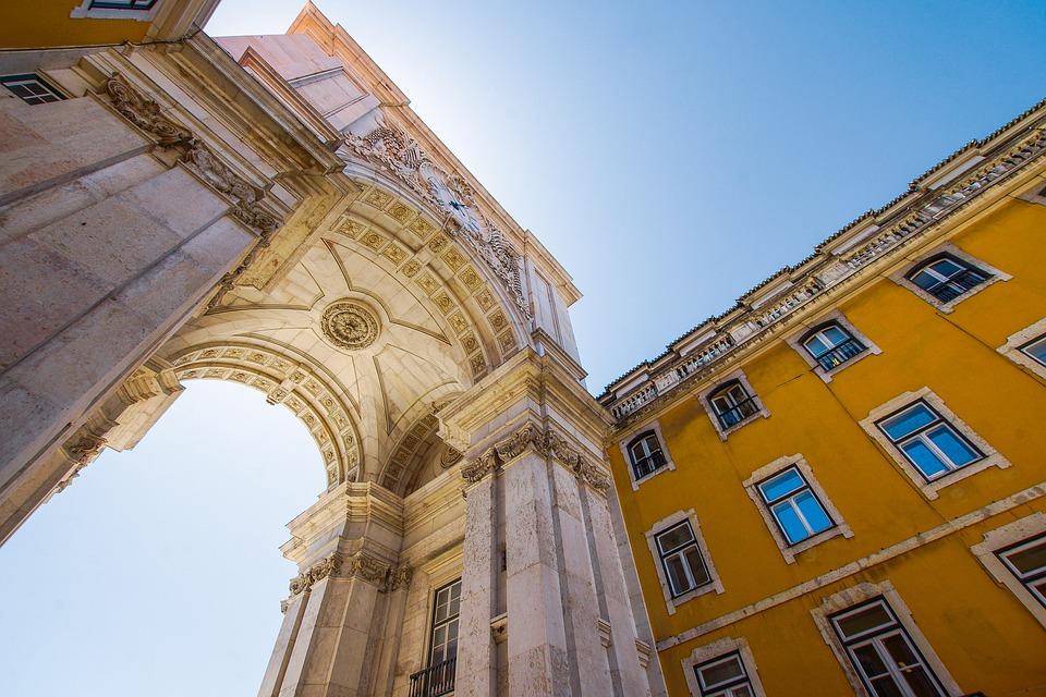 oblouk v lisabonu